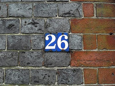 the magic number 26