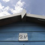 Here's a summery 26 on a beach hut - Shanklin. Isle of Wight - Lydia Thornley
