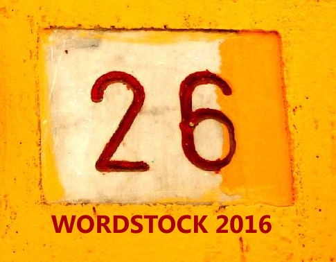 Logo for Wordstock 2016