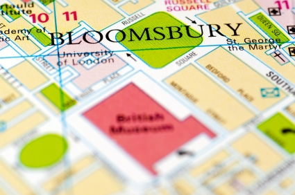 Bloomsbury on the map